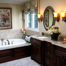 Traditional Bathroom by Marquee Design Group