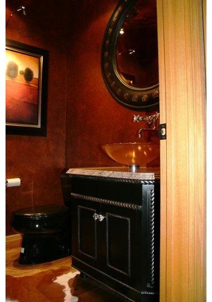 Contemporary Bathroom by Jaque Bethke for PURE Design Environments Inc.