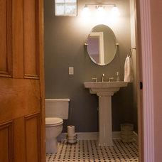 Traditional Bathroom by Ladd Suydam Contracting, LLC