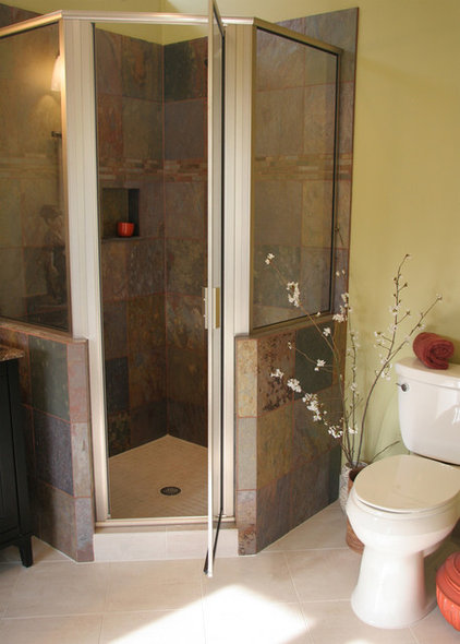 Asian Bathroom by Instinctive Design