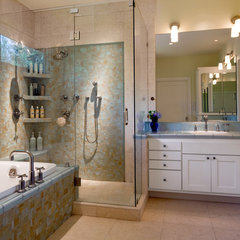 contemporary bathroom by Cravotta Studios -Interior Design