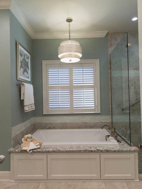 Beach Style New Orleans Bathroom Design Ideas Remodels Photos