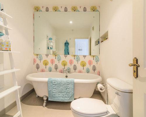 Bathroom Wallpaper Houzz .