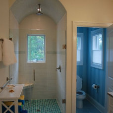 Beach Style Bathroom by Lewes Holdings Group