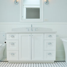 Traditional Bathroom by Tanya Schoenroth Design