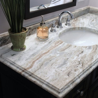 Inspiration for a timeless bathroom remodel in Boston