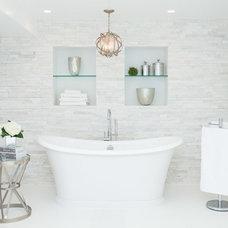 Contemporary Bathroom by Catherine Tonon Interiors