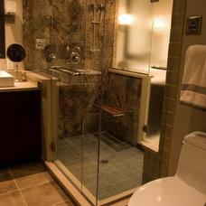 Traditional Bathroom by Lee Kimball