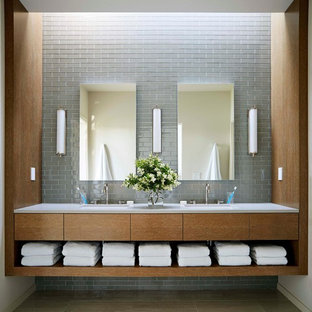 Inspiration för 60 tals badrum