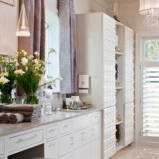 Contemporary Bathroom by Karen Giffel Interior Design, LLC