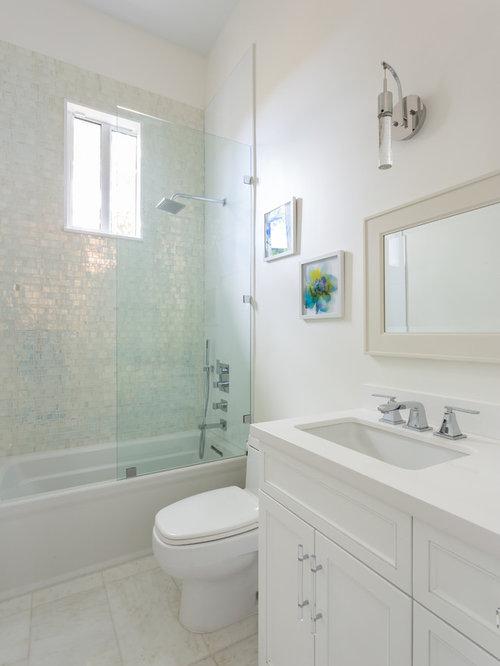 Miami Bathroom Design Ideas Renovations Photos With An Alcove Tub