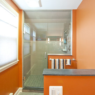 South Minneapolis Contemporary Bathroom Remodel