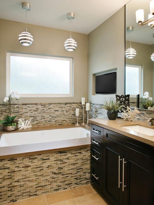 South orange county modern zen master bath remodel for Bathroom remodel orange county ca
