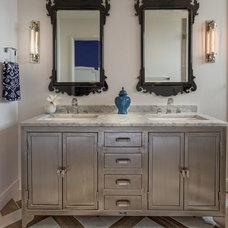 Contemporary Bathroom by Design Studio2010, LLC
