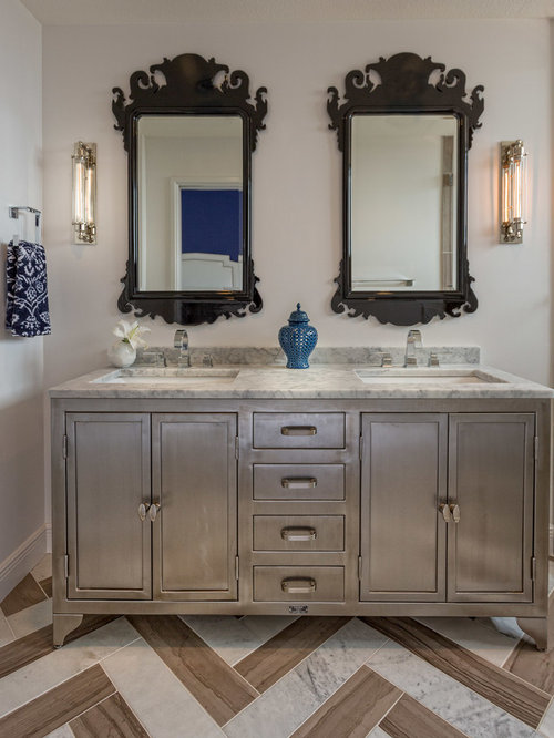 Industrial Vanity Home Design Ideas Pictures Remodel And Decor
