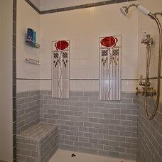Traditional Bathroom by EcoArtisan Builders