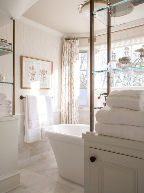 Medium Sized Ensuite Bathroom Design Ideas, Renovations ...