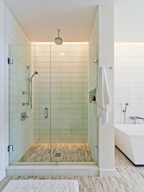 recessed lighting over shower. inspiration for a modern freestanding bathtub remodel in dallas recessed lighting over shower o