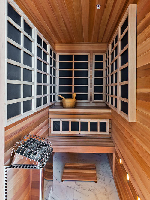 infrared sauna design ideas remodel pictures houzz. Black Bedroom Furniture Sets. Home Design Ideas