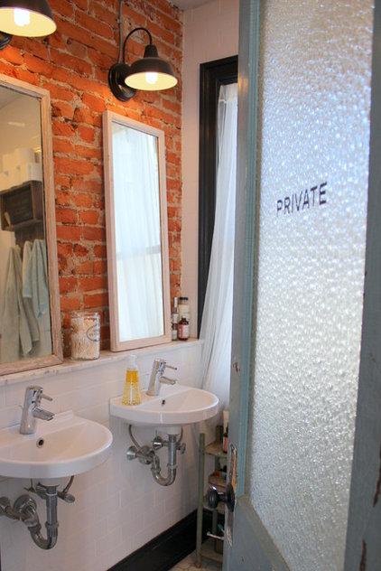 Eclectic Bathroom by Sara Bates