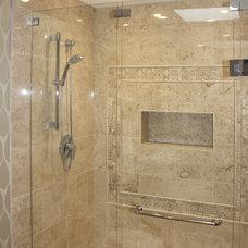 Traditional Bathroom by Sarah Gallop Design Inc.