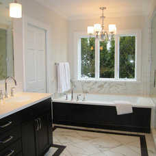 Contemporary Bathroom by Lindquist and company, Kitchens and Baths