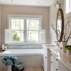 Traditional Bathroom by Topnotch Design Studio
