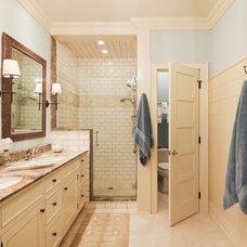 Traditional Bathroom by Richard Bubnowski Design LLC