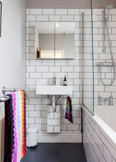 Eclectic Bathroom by Chris Snook