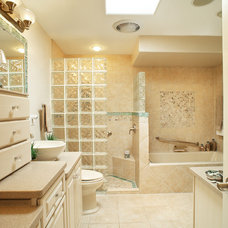 Traditional Bathroom by Eren Design and Remodel