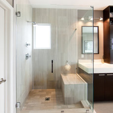 Modern Bathroom by By Brooke, LLC