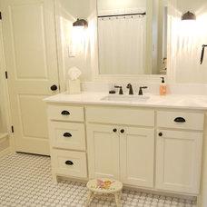 Traditional Bathroom by Todd Bonneau Homes