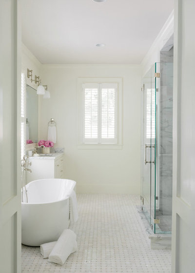 Traditional Bathroom by Curran & Co. Architects