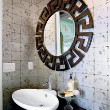Eclectic Bathroom by Margaret Donaldson Interiors