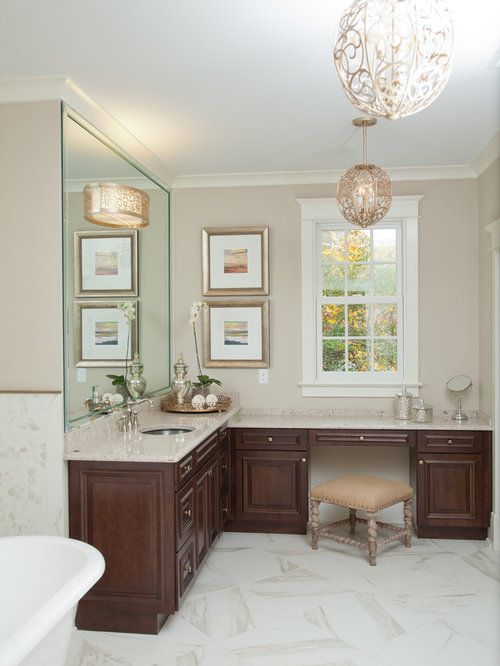 L Shaped Cabinets l shaped vanity | houzz