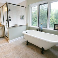 Traditional Bathroom by Case Design & Remodeling Indy