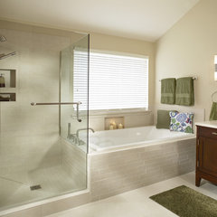 contemporary bathroom by USI Design & Remodeling