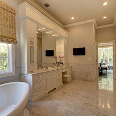 Mediterranean Bathroom by Simmons Estate Homes