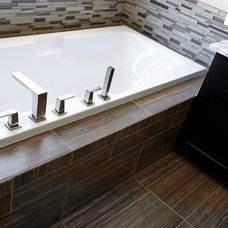 Contemporary Bathroom by Live Well Custom Homes