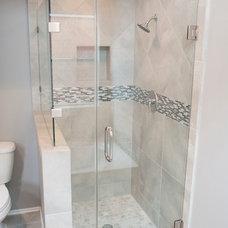 Transitional Bathroom by Curtis Lawson Homes