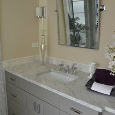 Traditional Bathroom by Louise Johnston Design