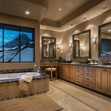 Mediterranean Bathroom by Design Directives, LLC
