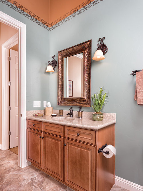 Pink Bath Design Ideas, Pictures, Remodel & Decor with ...