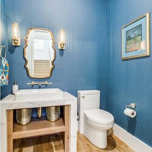 Inspiration for a southwestern bathroom remodel in Dallas