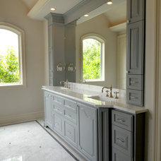 Traditional Bathroom by Iron Gate Build and Design Inc.