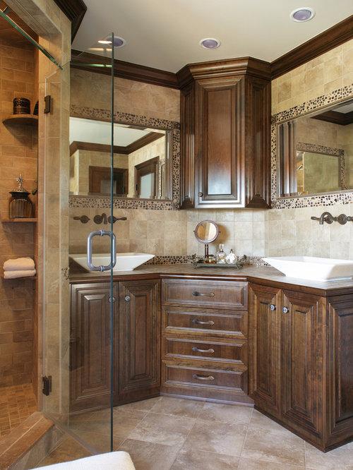 Corner Vanity Sink | Houzz
