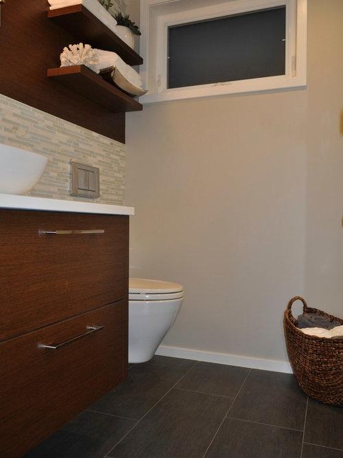Basement spa bathroom for 212 salon oak park