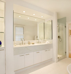 modern bathroom by Charlie Allen Restorations Inc