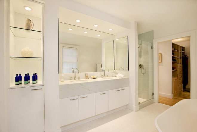Modern Bathroom by Charlie Allen Renovations, Inc.