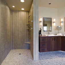 Transitional Bathroom by Kaufman Homes, Inc.